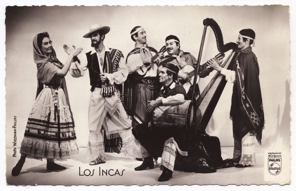 Los Incas band 1959